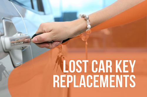 Lost car key replacements